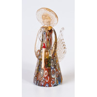 Фигурка Ангел миллефиори из муранского стекла