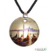 Подвеска Венеция из Муранского стекла