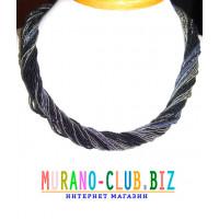 Ожерелье из Венецианского бисера 42 нити