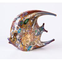 Фигурка Рыбка плоская миллефиори