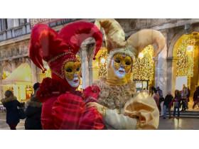 Венецианский Карнавал 2020 года. Маски из Папье маше