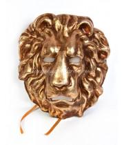 Маска Золотой лев  из Папье маше
