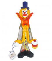Фигурка клоуна из Муранского стекла