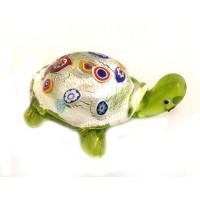 Фигурка Черепаха люме из муранского стекла