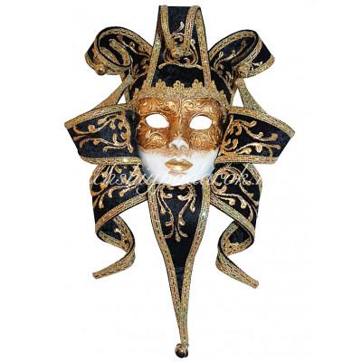Венецианская Маска Джокер из папье маше