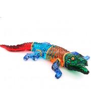 Фигурка крокодила из стекла