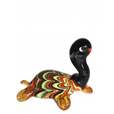 Фигурка Черепаха в финикийском стиле из Муранского стекла