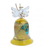 Колокольчик с ангелом из Венецианского стекла