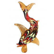 Фигурка рыбы в финикийском стиле муранское стекло