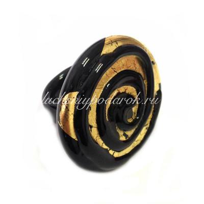 Кольцо Спираль (Spirale) из Муранского стекла