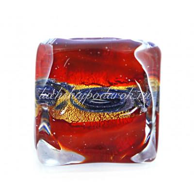 Кольцо Аква из Муранского стекла