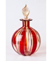 Флакон для жидкости филигрань из Муранского стекла