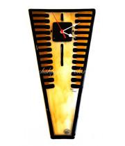 Часы настенные Трапеция из Муранского стекла