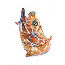 Фигурка Лягушки миллефиори муранское стекло