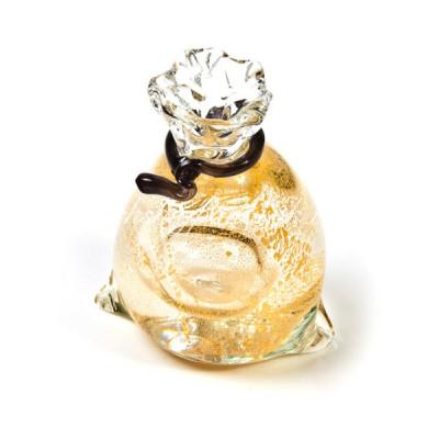 Мешочек с золотом из муранского стекла