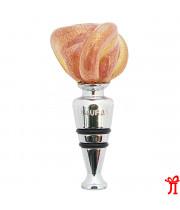 Пробка для вина Роза из муранского стекла