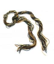 Ожерелье Венецианский бисерный галстук 24 нити