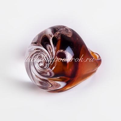 Кольцо Роза Паоло из муранского стекла