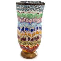 Ваза Тысяча цветов из муранского стекла