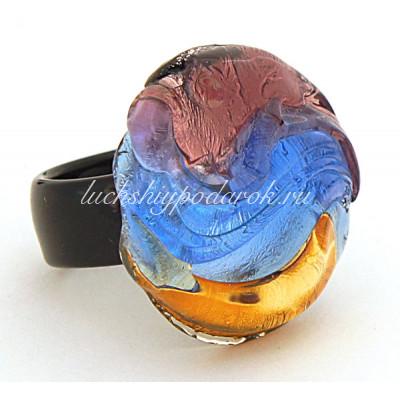 Кольцо Аркобалено из Муранского стекла