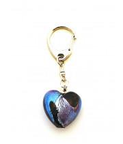 Брелок Сердце grande из Муранского стекла