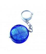 Брелок круг из муранского стекла