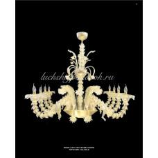 Люстра Oro из Муранского стекла