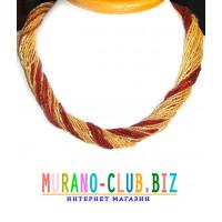 Бисерное ожерелье 36 нитей