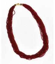 Бисерное ожерелье 30 нитей из Венецианского стекла