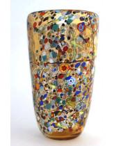 Ваза для Цветов Арлекино из Муранского стекла