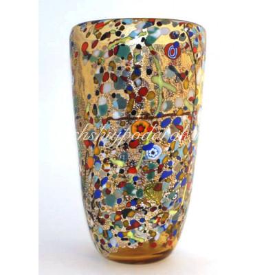 Ваза Арлекино из Муранского стекла