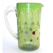 Кувшин для вина Goccia из муранского стекла