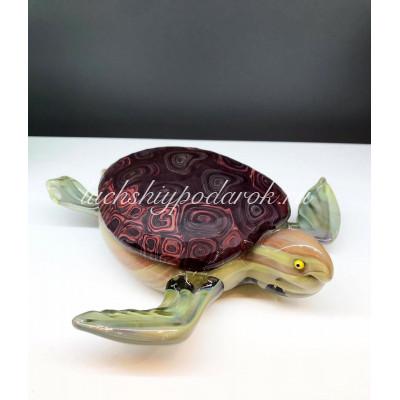 Скульптура Черепаха из муранского стекла