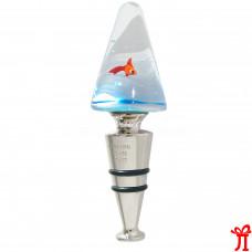Пробка для бутылки Треугольник из муранского стекла