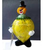 Фигурка клоун Limon  из муранского стекла