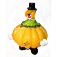 Фигурка клоун zucca из муранского стекла