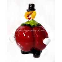 Фигурка клоун pomodoro  из муранского стекла