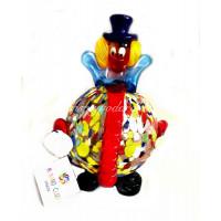 Фигурка Клоун классический из муранского стекла