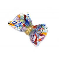 Фигурка бабочка из муранского стекла
