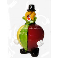 Фигурка клоун MANGO из муранского стекла