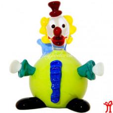 Фигурка клоун из муранского стекла