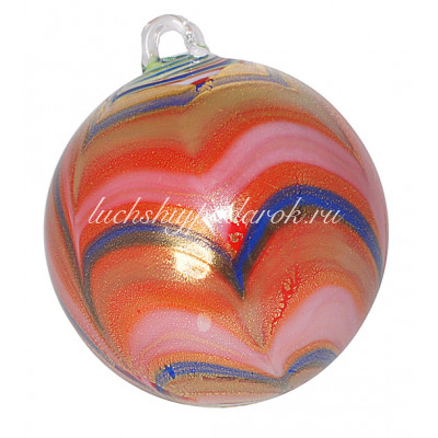 Новогодний шар из муранского стекла
