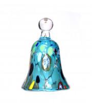 Колокол VENEZIA AZZURO из муранского стекла