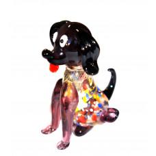 Фигурка собаки люме из Муранского Стекла