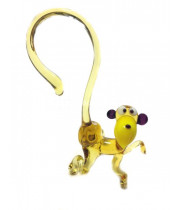 Фигурка стеклянная обезьяна
