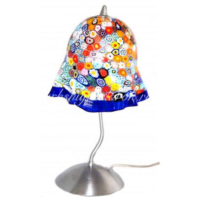 Лампа настольная муррина из муранского стекла