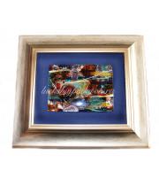 Панно морская абстракция из муранского стекла