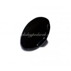 Кольцо Круглое Черное Большое из Муранского стекла