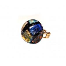 Кольцо Decroico круглое безразмерное