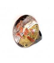 Кольцо Paola lume из муранского стекла